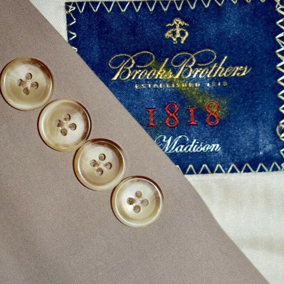 Brooks Brothers Other - NWT $498 40S Brooks Brothers Madison Cotton BLAZER